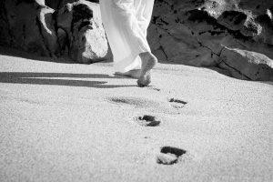 pied noir blanc nour
